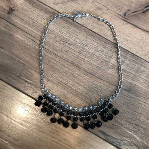 Jewelry - Black and silver statement necklace